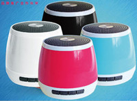 Wholesale YP Candy color Wireless bluetooth speakers portable TF card speakers car mini computer audio subwoofer in retail box