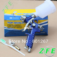 High Pressure Gun Paint Spray Gun Zhejiang, China (Mainland) brand New High Quality Of Mini HVLP Air Spray Gun With 0.8MM free shipping