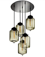 Wholesale Italy Niche Glass Pendant Lights Modern Pendant Lamp Chandeliers Light Lamps for Bar Dining Room Include E27 Bulb Light Lamp