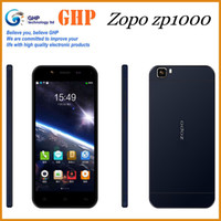 Zopo 5.0 Android Original ZOPO ZP1000 MTK6592 Octa Core Cell Phone 1GB RAM 16GB ROM 5.0 Inch HD IPS Android Cell Unlocked Smartphone 14.0MP GPS