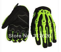 Wholesale Motorcycle Gloves skull design motocross RACING GLOVES cycling gloves