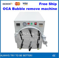 New air bubble removing machine 110V/220V Free Shipping!! separator machine for refurbishing broken LCD Automatic Air Bubble Remove Machine, OCA Bubble Remove machine