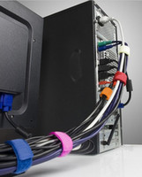 Wholesale Computer cable management with cable tie reel Cable Tie Cable Manager Desktop Cleanup finishing line