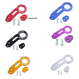 Wholesale 6 Colors BENEN Universal car Rear Tow Towing Hook set for most Car Auto Trailer Ring drop shipping K915