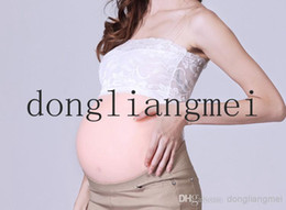 Wholesale 1pc the largest one month pregnant fake belly silicone belly for false pregnant and actors different sizes Z17