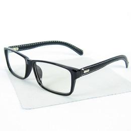 Wholesale New Classics Square Brand Eyewear Leather Glasses Frame Optical Frame Professional Custom Optical lense Colors WL7042