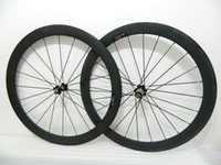 Wholesale NEW c carbon road bike wheels carbon wheels black mm carbon clincher tubular wheelset