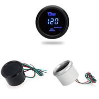 Precio de Pressure sensor-Aceite Medidor Digital Medidor de presión con sensor de 52 mm auto del coche 2 pulgadas LCD 0 ~ 120 psi luz de advertencia K973B K973S