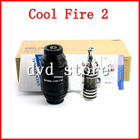 Electronic Cigarette Atomizer  2014 original Innokin Cool Fire 2 starter kit VV mod Coolfire 2 from new arrival Cool Fire 2 mod iClear 30B atomizer ego kit DHL Free
