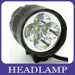 Wholesale 2 in Ultra Bright x CREE T6 LED Lumen Bicycle Bike Light Torch Headlamp Headlight Bikelight Flashlight x mah By DHL