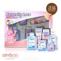 Wholesale Hello baby personal care set newborn toiletries gift box baby skin care products