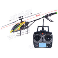 Electric 2 Channel 1:4 WLtoys V912 2.4G 4ch rc helicopter v911 upgrade single propeller big 52cm radio control single screw remote control 19244