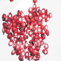 Wholesale 300x Retail Top Quality Red Wooden Ladybird Ladybug Sticker LADY BUGS Decorate Clips Cards Scrapbooks x11mm