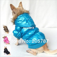 assure pink - HOTL SALE fashion quality assured colors winter warm dog clothes designer dog clothes FD104