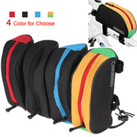 Wholesale Roswheel Mountain Bike Bicycle Front Tube Pipe Bag Pouch With Velcro Straps Optional Colors CYC_606