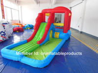 Wholesale Inflatable water slide for sale pool inflatable water game inflatable bouncer