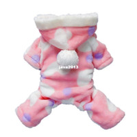 Dog Costumes adorable small dogs - Adorable Pink Sweetie Dog Coat for Dog Hoodie Jumpsuit Soft Cozy Pet Cat Clothes