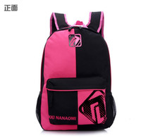 Wholesale Cute Lady Girl Backpack Cartoon Panda Canvas Shoulder bag Travel Backpack Fashion Canvas Bag Women