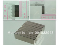 Wholesale N52 mm mm mm block rare earth Neodymium Permanent Strong Magnets Craft