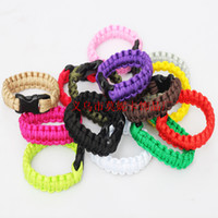 Wholesale Hot Outdoor Bracelet Survival Escape Life saving Bracelet Paracord Hand Made With Plastic Buckle