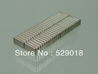 Wholesale 50pcs N52 block mm mm mm rare earth Neodymium Permanent Strong Magnets Craft