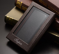 Wholesale Wallet Litchi Leather Case stand Cover For iphone S