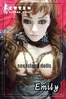 Man Half Solid Japanese Wholesale - hot sell life size japanese silicone breast love sex doll realistic real life inflatable sex doll DHL shipping