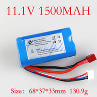 Helicopters Batteries Li-ion 11.1V 1500mAh Li-ion Battery for 105CM Huge Big Larger 3.5CH Radio Electric Remote Control RC Helicopter Metal Gyro G.T Model QS8005 QS 8005