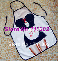 adult bibs funny - ITATI Design Sexy Maid Kitchen Cooking Apron Funny Women s Gift sexy aprons for Barbeque penis adult bibs