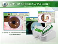 Wholesale newest M Pixels CCD USB eye Iriscope Iridology health iris analyzer iris camera