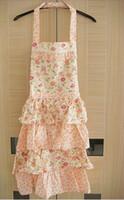 baking dressing - Beautiful Princess Dress Style Floral Kitchen Cooking Baking Cotton Apron