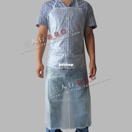 Wholesale 2pcs Thickening of sand waterproof apron oil aprons medical dressing hospital surgical supplies health care shop online store