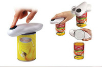 plastic Bottle Openers ECO Friendly New One Touch Automatic Can Jar Opener Tin Open Tool Kitchenware #K07450
