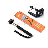 Wholesale Z07 Adjustable cm Gopro Monopod Tripod with phone Holder for Digital Camera iPhone Samsung HTC drop shipping