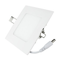 No 110-240V 2835 New 6W LED Panel Light Square Ceiling Lamp Ceiling Mounted Lamp Inlay L2030W