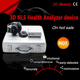 Wholesale 2015 good quality Multi language Quantum Resonance Magnetic Analyzer new d nls sub health analyzer and therapy with reports