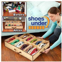 On Sales Waterproof Closet shoes Organizer Under Bed Storage...