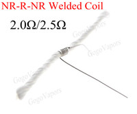 Wholesale Ready Made Welded Wicks and Wires NR R NR Non Res Resistance Non Res for Rebuildable Atomizer RDA Kayfun Patriot Ithaka