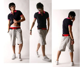 Wholesale Retail Loose fashion casual colorful shorts men short trousers casual short sports trousers Q0510