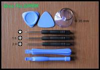 Wholesale 100 set bag repair tools combination PH000 Pentagonal Torx crowbar screwdriver repair iPhone Blackberry The screen opening tool