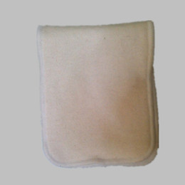 Wholesale Naughty Baby Hemp Organic cotton Layers Reusable Baby Cloth Diaper Pads Nappy Inserts
