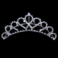 Tiaras&Crowns Rhinestone/Crystal Fashion Free Shipping Shining Fashion Wedding Veil Tiara Crown Headband Hair Accessories Tiaras Bridal Veil EM01069