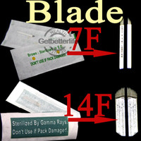 Wholesale 10 Perfect Permanent Manual Tattoo Makeup Eyebrow New Blade XM N10 Tattoo Blades Supply