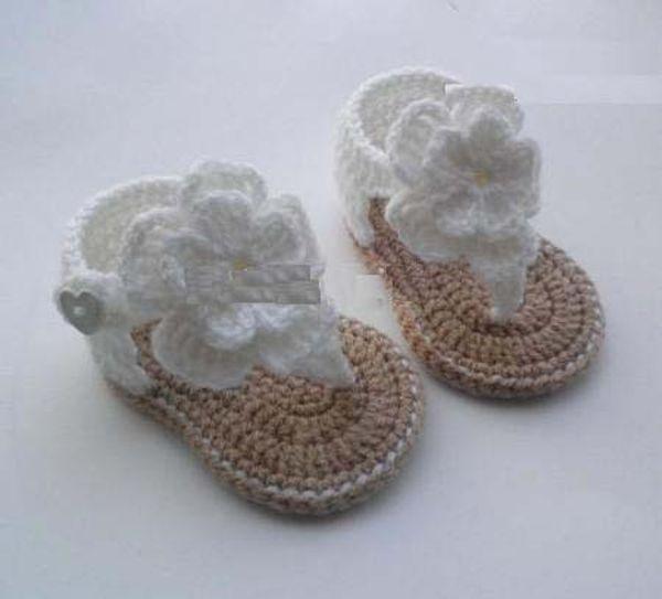 Прекрасные цветы малыша обувь/крючком детские Босоножки детские сандалии гладиаторов; Дети