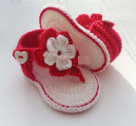 Прекрасные цветы малыша обувь/крючком детские Босоножки детские сандалии гладиаторов