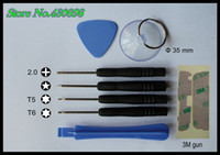 Wholesale 100 set bag set One Opening Tools Repair Tools Phone Disassemble Tools set Kit For Samsung iPad HTC Cell Phone Tablet PC