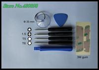 Wholesale 100 set bag set Repair Kit Set computer repair kit screwdriver magnetic T5 T6 Screwdriver Triangle pry hand tool kit