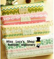 Cheap Fabric Pencil cases Best 20.5*11cm 52g school pencil case
