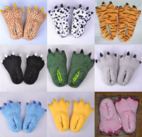 animal novelty slippers - Winter Slippers Cosplay Animal Claw Shoes for Christmas Halloween Carnival