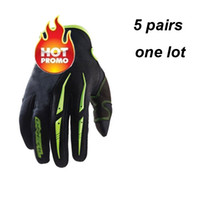 Wholesale sports brand motorcycle gloves off road dirt bike gloves ghost claw full finger gloves mixed